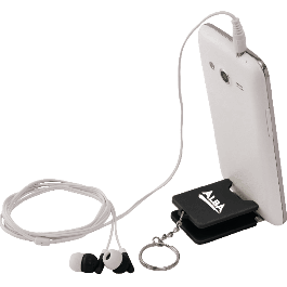 Spectra Earbuds & Mobile Phone Stand