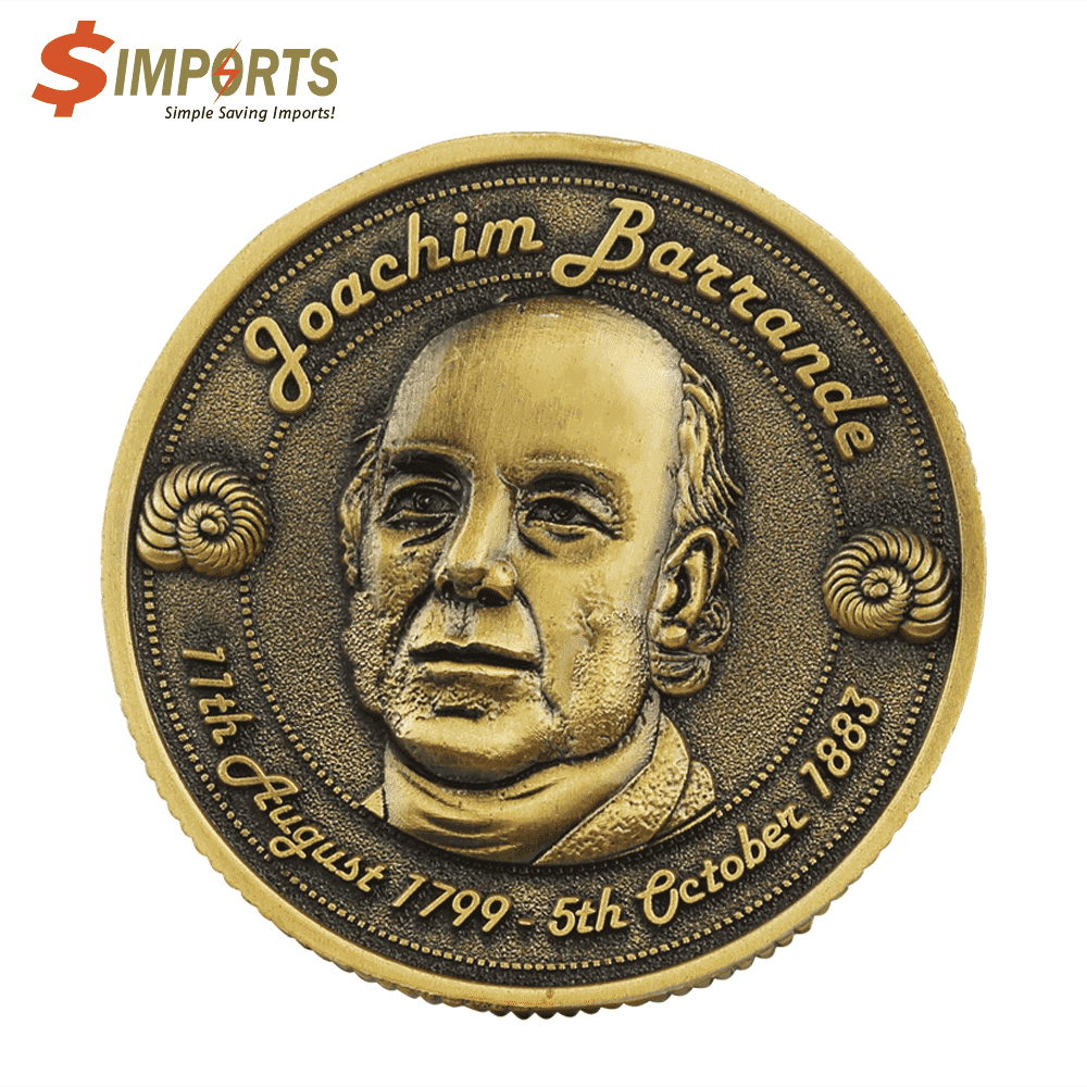 Zinc Alloy Made Plating Coins (Simports)