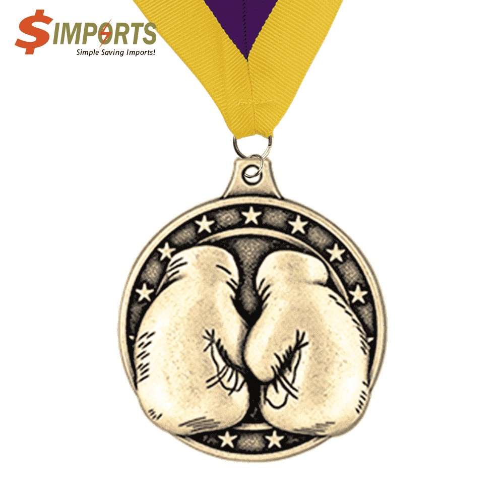 Brass Made Plating Medal (Simports)