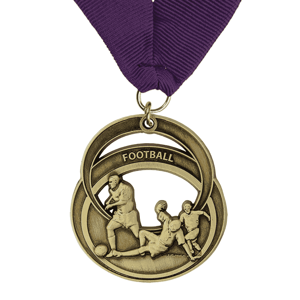 Zinc Alloy Made Plating Medal