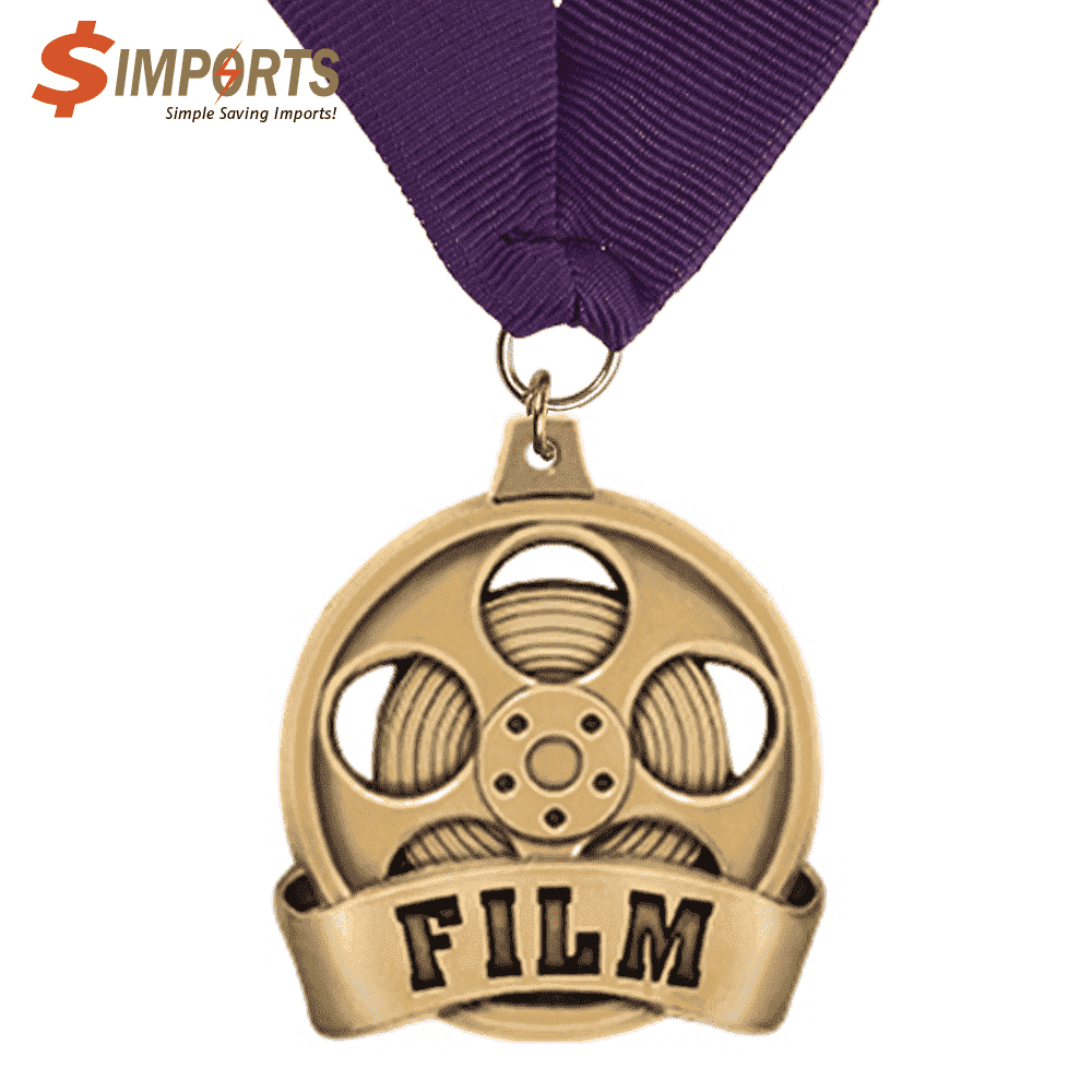 Zinc Alloy Made Plating Medals (Simports)