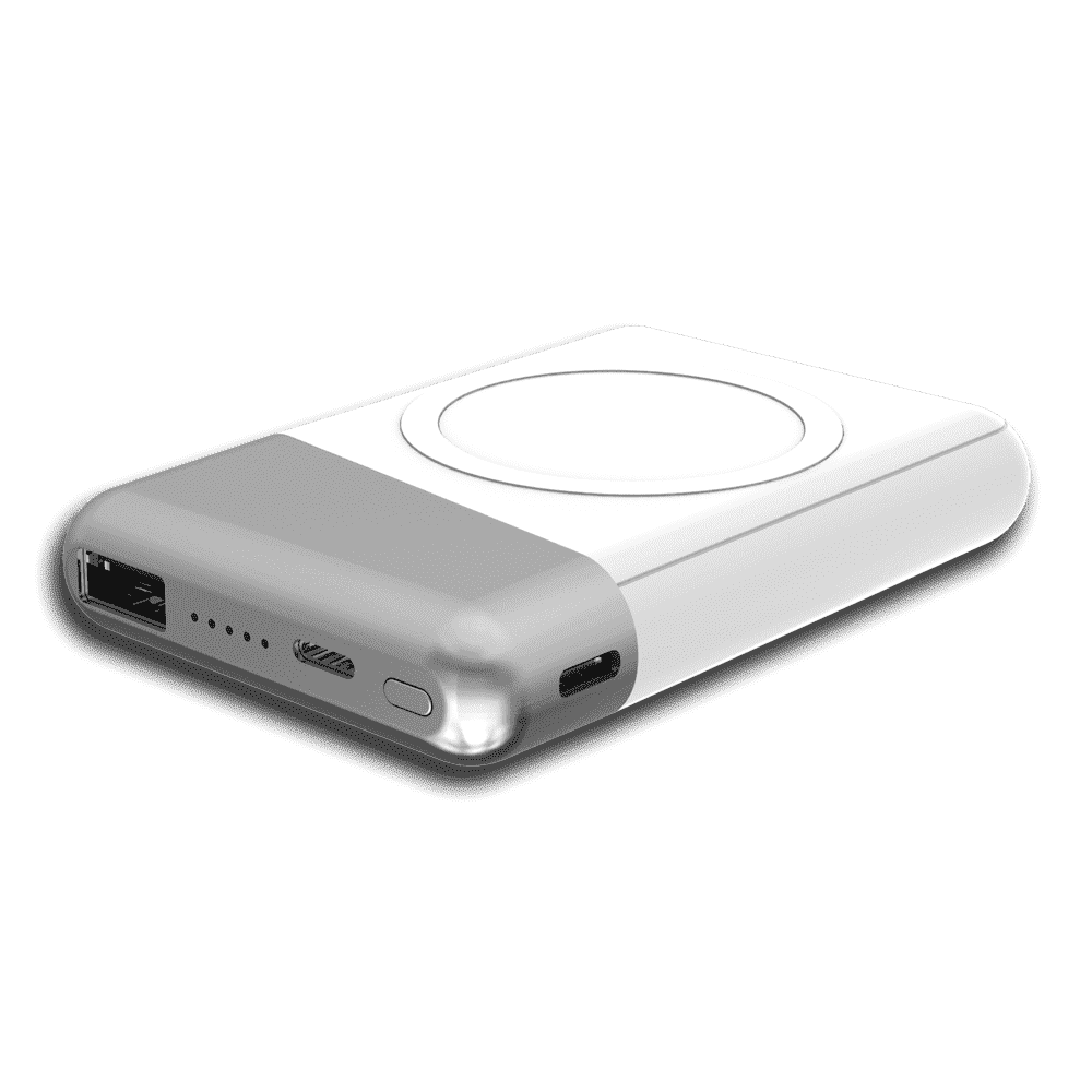 Laramie 5000 Powerbank with Wireless Charger