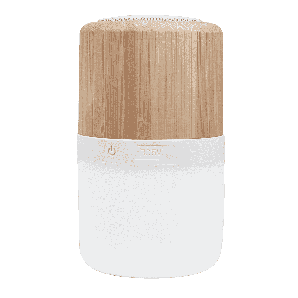 Bensley Bamboo Color Ambiance Nightlight Bluetooth Speaker