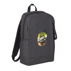 """NBN Whitby Slim 15"""" Computer Backpack w/ USB Port"""