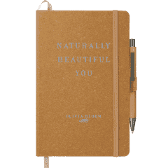 """5.5"""" x 8.5"""" Recycled Leather JournalBook Bundle Se"""