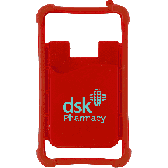 Silicone Phone Wrap with Wallet