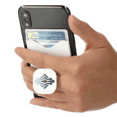Phone Holder with Card Wallet