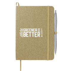 """5"""" x 7"""" Recycled Cotton Bound Notebook"""