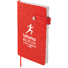 """5.5"""" x 8"""" Paige Snap Closure Notebook"""