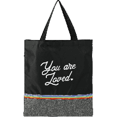 Rainbow RPET Convention Tote