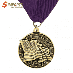 Iron Made Plating Medal (Simports)