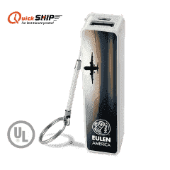 Logan Square Key Chain UL Listed Power Bank