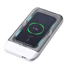 Portable Personal UV Sterilizer & Wireless Charger