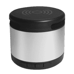 Jones Metal Bluetooth® Speaker w/ Wireless Charging Pad