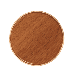 Hebron Walnut Eco-Friendly Wireless Charger