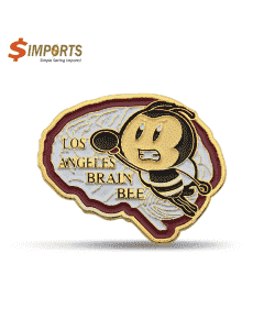 Soft Enamel Iron Lapel Pins (Simports)