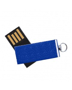 Willowbrook Aluminum Swivel USB with Small Key Ring